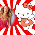 montaje de hello kitty